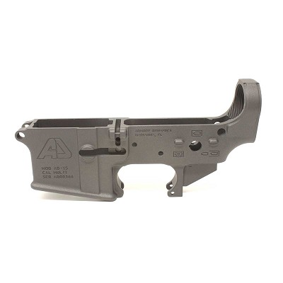 Armory Dynamics AD-15 Enhanced / Threaded Forged Lower Cerakoted Cobalt Grey