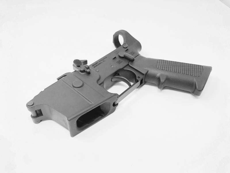 Armory Dynamics 9MM Lower Receiver w/ 6-Position Mil-Spec Tube