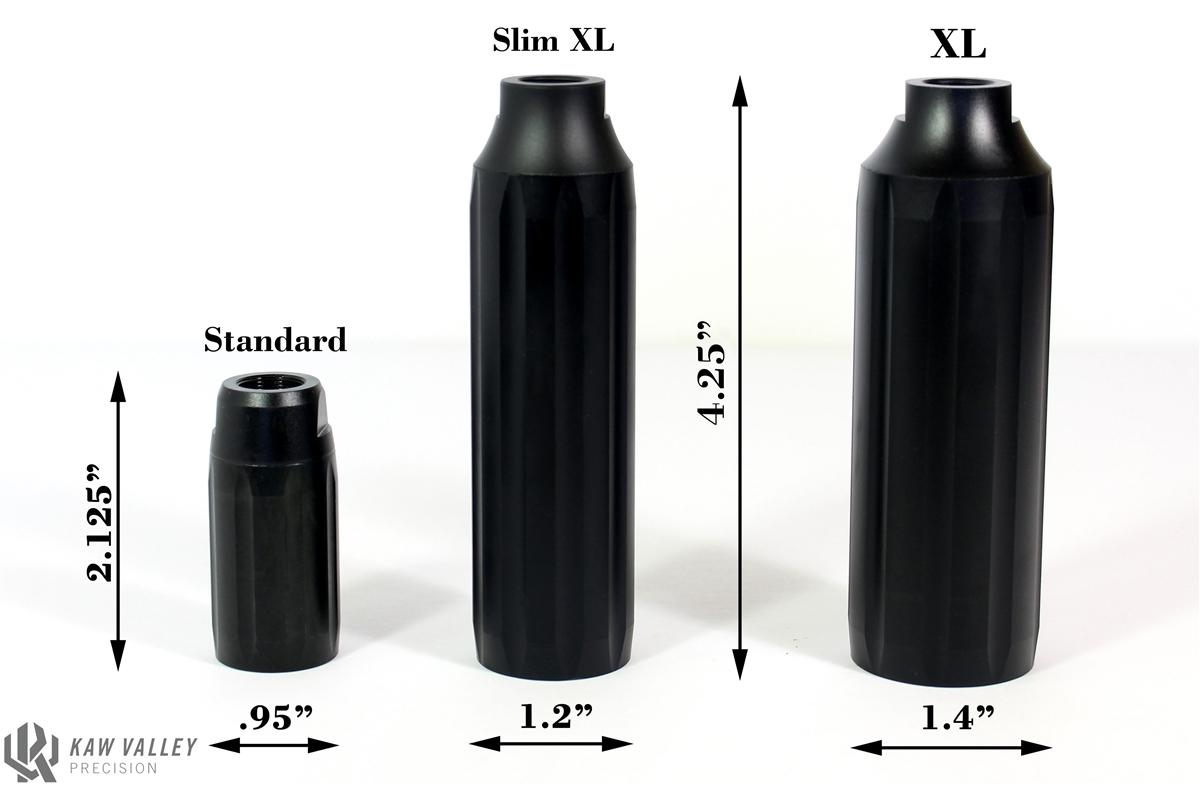 Kaw Valley Precision Linear Comp 5/8-24 6 5 /  30 Caliber Black