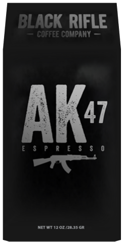 BRCC AK-47 Espresso Blend Coffee - Whole Bean
