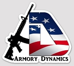 Armory Dynamics Die Cut Vinyl Sticker 3x3