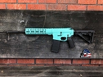 Armory Dynamics AD-15 Rifle 5.56 16 Inch Barrel  Cerakote Robin's Egg Blue
