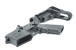 Armory Dynamics Complete AD-15 Enhanced Lower w/ SBA3 Brace Black
