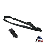 Armory Dynamics Universal Single Point Sling Black w/ QD Swivel