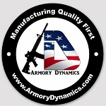 Armory Dynamics Sticker Round 4x4