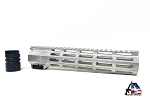 Armory Dynamics AD15 10 Inch M-LOK Handguard Uncoated