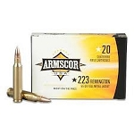 Armscor 223 Rem. ARMFAC2231N 55 gr FMJ Brass Cases 20 rounds