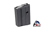 Ammunition Storage Components 5-Round Stainless Steel Magazine 6.8SPC Black