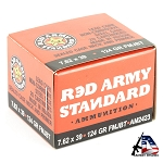 Century Arms Red Army Standard 762X39 124GR Full Metal Jacket 20 Round Box
