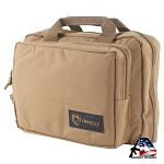 Drago Gear Double Pistol Case Tan 12315TN