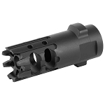 Gemtech  7.62 5/8x24 QM Carbon Cutting Muzzle Break