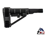 SB Tactical SBA4 Pistol Stabilizing Brace Black