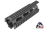 Leapers UTG PRO Model 4/15 Drop In Quad Rail Monolithic Handguard Carbine Black