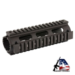 Leapers UTG PRO Model 4/15 Quad Rail Carbine Length Black