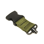 Armory Dynamics QD Sling Swivel Adapter Sheriff Green