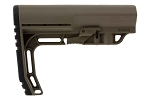 Mission First Tactical MFT Battlelink Minimalist Stock Mil-Spec - Scortched Dark Earth
