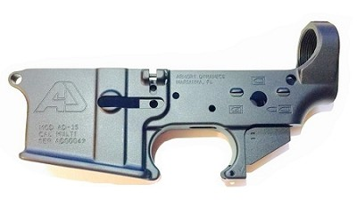 Armory Dynamics AD-15 Enhanced Multi-Cal Forged Lower
